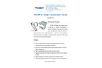 Probest - Model PSS-800 SS TSS MLSS - Sludge Concentration Sensor On-Line Analyzer Brochure