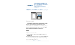 Probest - Model CL-201 - Chloride Online Analyzer Brochure