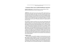 Passive Soil Gas Surveys - Groundwater and PSG Correlation Brochure