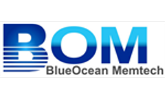 Signing ceremony for contract between BlueOcean Memtech Pte Ltd and Enviros India Pvt Ltd