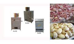Amisy - Model AMS-ST150/AMS-ST300/AMS-ST600 - Commercial Garlic Peeling Machine