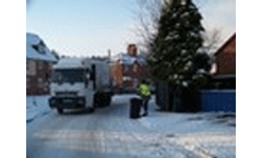 Snow disrupts waste collections