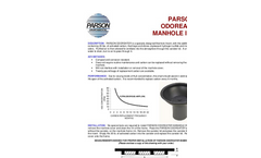 Parson Odoreater Manhole Insert Full Data Sheet