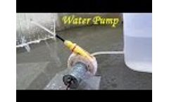 How to Make a Water Pump using Bottle and Sketch pen Video