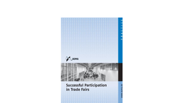 AUMA - Successful Participation in Trade Fairs- Brochure