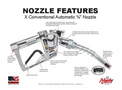Husky - Model 1+10 - Automatic Shut Off Fuel Nozzle Brochure