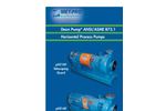 Dean Pump - Model pH Series - Horizontal ANSI Process Pumps - Brochure
