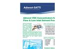 ADWEST TECHNOLOGIES, INC. - Model VOC - Concentrators Brochure