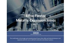 CECO Effox-Flextor - Metallic Expansion Joint - Brochure