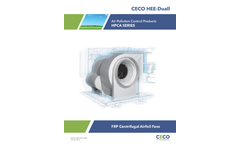 CECO HEE-Duall - Model HPCA Series - Air Pollution Control Products - Brochure