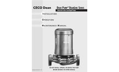 Dean Pump Deanline Series - Industrial In-line Centrifugal Pumps - Manual