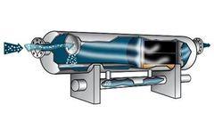 CECO Peerless - Horizontal Double-Barrel Vane Separator