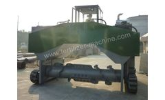Whirlston - Model HRSD - Hydraulic Compost Windrow Turner