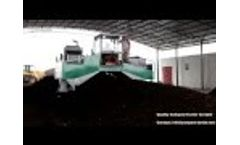 Quality Compost Windrow Turner Video