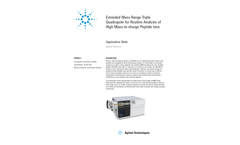 Cobalt - Model 6495B - LC/MS - Triple Quadrupole Mass Spectrometer Brochure