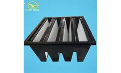 D.King - Customized Hospital and Power Plant use Hepa Plate Frame Air Intake Filter