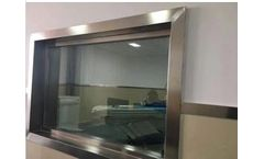 Model 2mm 3mm 4mm 5mm - Medical Xray Radiation Lead Glass