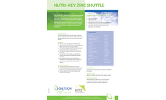 Zinc Shuttle - Liquid Fertiliser - Brochure