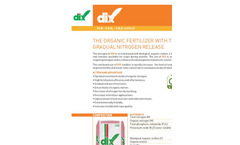 Model DIX - Biological Organic Carbon Fertilizer- Brochure