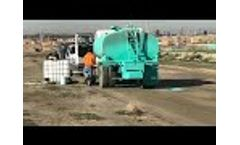 Dust Control for Housing Pads - Video