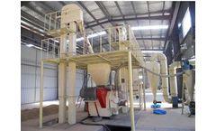 Whirlston - Model HM 400 - 500kg/h Coconut Shell Pellet Plant