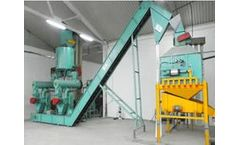 Whirlston - Model 2T/H - Olive Pomace Pellet Plant