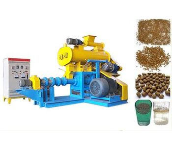 Fanway - Model FY-DSP70 - Floating fish feed extruder machine 300-350kg/h