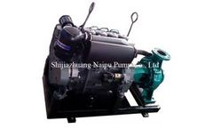 Naipu - Model IS150-125-315 - Diesel Engine Irrigation Water Pump