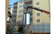 Model 5000 Liter - Semi Underground Waste Container System Video