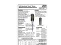 Self Adjusting Standard Measurement Sensors Brochure