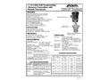 Model 2 ,3 & 4 - Wire Self Compensating Ultrasonic Transmitters with Remote Transducers - Datasheet