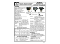 ABM - Model Mini Sonic - Self Adjusting and Compensating Standard Ultrasonic Transmitters - Datasheet
