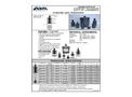 ABM - Ultrasonic Level Transducers - Datasheet