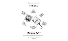 Digmesa - Model FHK(U) LCD - Flow Sensor Brochure