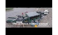 TPS120 Track Picking Station with Air Density Separator Video