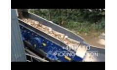 M&K Waste Recycling Plant c/w 2 Deck Waste Screen & Fines Cleanup - SWM Video