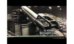 Trommel Fines Cleanup Waste Screen Flip Flow Screen Video