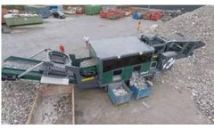 M&K - Model TPS120 - Heavy Duty Track Picking Station