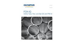 Model FOX-IQ - Process & On-Line XRF Analyzer Brochure