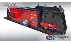 Model TLFX - Eddy Current Separator