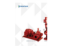 Series 912 - Horizontal Split Case Electric Drive Fire Pump Specifications Sheet
