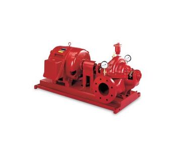 Aurora - Model Series 912  - Horizontal Split Case Electric Drive Fire Pump