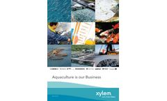 Aquaculture is Our Business - Brochure