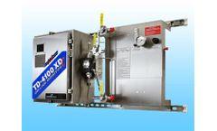 UV fluorescence technology for monitoring heat exchanger leaks in paper plant
