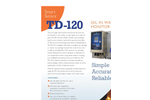 TDHI - Model TD-120 - Oil in Water Monitor - Brochure