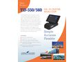 TD-550/560 Oil in Water Analyzer - Technical Datasheet