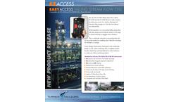 TDHI - Model EZ - Easy Access Falling Stream Flow Cell - Technical Datasheet