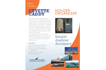 Cuvette Caddy Holder Organizer - Technical Datasheet