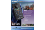 TDHI TD-500D Dual Channel Handheld Oil in Water Analyzer - Technical Data