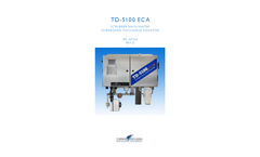 Model TD‑5100 ECA - Scrubber Wash Water Overboard Discharge Monitor - User Manual